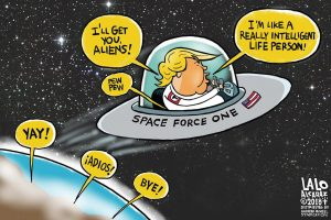 President Donald J. Trump Space Force One